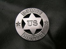 OLD WEST - US BOUNTY HUNTER BADGE - HIGH QUALITY - SHERIFF - LIMITED EDITION