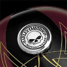 Cover tappo serbatoio Skull originale x Harley Davidson 99670-04 NUOVO!!!