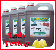 Kennel disinfectant 4 x 5L LEMON FRESH (20 litres) contains Lab tested product
