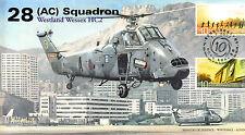 AV600 2007 28 Sqn Wessex RAF KAI TAK Hong Kong to China handover cover 10th Ann