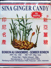 2 Boxes Indonesian Sina Ginger Candy (US Seller)