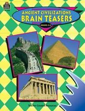 Ancient Civilizations Brain Teasers-ExLibrary