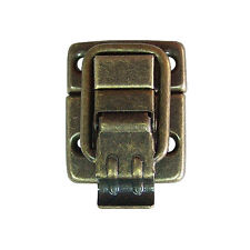 20 Pcs Antique Bronze Iron Small Wood Case Chest Box Ball Catch Clasp Hasp Latch