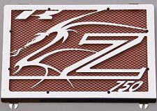 "cache / Grille de radiateur Kawasaki Z750 04>06 design ""Dragon"" + grill. orange"