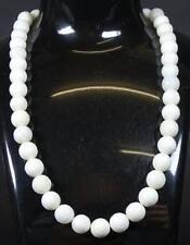 Achat Halskette mit versilberter Steckschließe,ca.L- 43cm,gew.68g