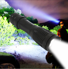 Military Police 950000Lumens T6 LED Flashlight Zoomable Powerful Led Torch Light
