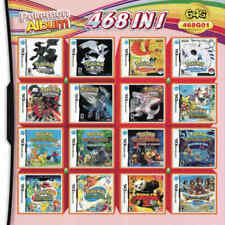 468 in 1 Games Cartridge Card Multicart for Pokemon Nintendo NDS 3DS NDSL ,US