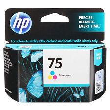 RETAIL BOX 2017 Genuine OEM HP 75 Color Ink CB337WN DeskJet D4263, D4268, D4280