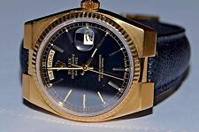 Mens Rolex Day-Date Oysterquartz President 18K Solid Gold