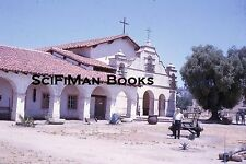 KODACHROME 35mm Slide California Mission San Antonio De Padua Bells People 1964!