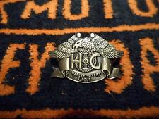 HD Harley-Davidson ansteckpin pin spilla Pre-Luxe Black Nickel 3d p016383