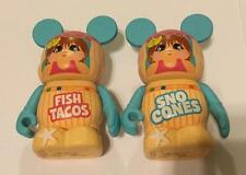 Cutesters at the Beach Sno Cones & Fish Tacos Variant VINYLMATION Disney Authent