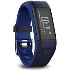 Garmin Vivosmart frecuencia cardiaca + Rastreador de actividad Calce Regular, azul oscuro
