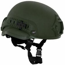 MFH Helm MICH 2002 ABS Tactical Military Paintball Airsoft Olive