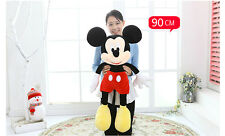 1pcs Mickey Mouse BIG Jumbo Plush Tall Kids Boys Girls Toy Doll 90CM Gift
