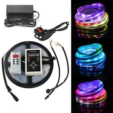 5M 5050 Magic Dream Color 6803 IC Chip RGB LED Strip 133 Effects Controller Kit