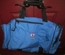 Vintage Wilson Us Open Evian Sponsored Large Tennis Duffel Weekend Bag