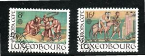 LUXEMBOURG EUROPE EUROPA CEPT   STAMPS USED  LOT 7113