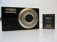Olympus FE-5010 12.0MP Digital Camera W/ Battery - Black