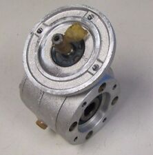 STM RMI 28 FL 1/7 7:1 RATIO 9mm SHAFT IN 14mm BORE OUT SPEED REDUCER GEARBOX NEW