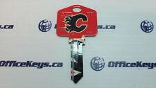 Calgary Flames Keyblank WR5 (Weiser) Keyway