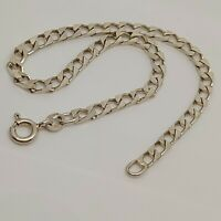 """Solid Sterling Silver 925 bracelet chain 7""""  design jewellery curb chain P58"""