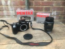 Pentax Z-20 SLR 35mm Film Camera & Pentax 28-80mm 1:3.5-1:4.5 Lens Boxed Working