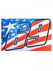 New Official Nicky Hayden American Flag 18 54003