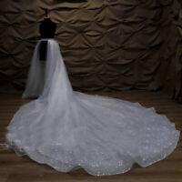350 cm Long in Back Bridal Sparkly Detachable Skirt-Train Tulle Skirt Long Dress