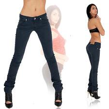 REPLAY Sexy Damen Jeans Hose Röhre Röhrenjeans Hüftjeans Blau Navy NEU  (1)