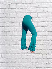 LONG RUFFLE Trousers Yoga,Gothic,Psy,Festival,Hippy,Pixie,Dance,Boho 8-10-12-14