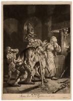 Antique Master Print-SENSES-SMELL-Dusart-ca. 1680