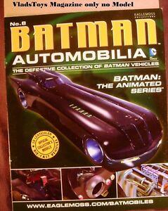 Eaglemoss Automobilia Batman Magazine Only Batmoblie The Animated Series #8