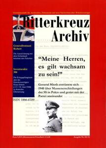 Ritterkreuz Archiv - Ausgabe III/2011