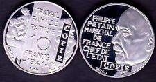 ★★ JOLIE COPIE DE L'ESSAI NICKEL DE GALLE DE LA 10 FRANCS 1941 PETAIN ★★