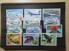 S192/4741 PAPUA NEUGUINEA  Lot Motivsätze Flugzeuge + WWF xx