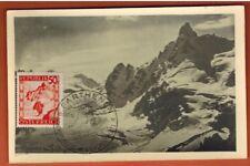 1948 - Autriche - Carte Maximum Photo  - Montagne - Silvretta - Osterreich