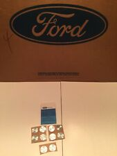 NOS 1968 1969 1970 Ford Mustang & Shelby Door Window Handle Insert Disc Covers