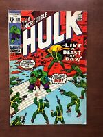 Incredible Hulk #132 (1970) 7.0 FN Marvel Key Issue Bronze Age HYDRA App Stan