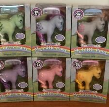 35th Anniversary My Little Pony—Complete Set Of Six—New, Factory-Sealed
