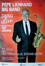 LIENHARD, PEPE - 2016 - Konzertplakat - Udo Jürgens - Tourposter - Düsseldorf