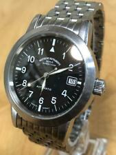 MUHLE GLASHUTTE M12610 Germany Black Dial Stainless Steel Men's Automatic Watch