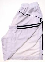 ADIDAS Mens Sport Shorts Large White Polyester  CA02