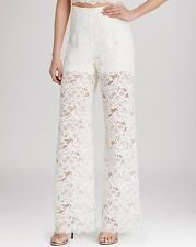 Haute  Hippie High Waist Lace Pants    Size S