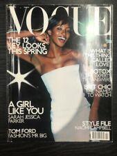 VOGUE Magazine: Naomi Campbell, February 2001