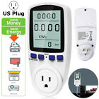 Digital Power Saving Energy Monitor Watt/Amp/Volt/KWh Meter Electricity Analyzer