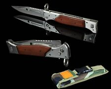 NEW KNIFE AK 47 KALASHNIKOV RUSSIA USSR CCCP MESSER HUNTING BLADE WOOD STEEL