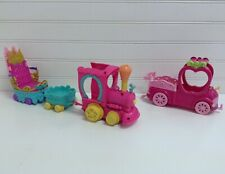 My Little Pony Friendship Express Train Throne Car & Truck Vehicles Lot Set Of 4