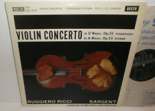 SXL 2279 Tchaikovsky & Dvorak Violin Concertos Ruggiero Ricci LSO Sargent ED1WBG