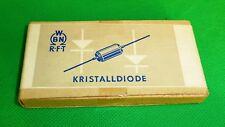 Diodo o4a 654 2x 2 coppiette diodi DDR CONFEZIONE ORIGINALE 1957